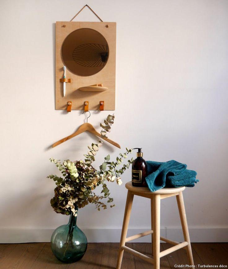 DIY Organisateur de salle de bains en bois