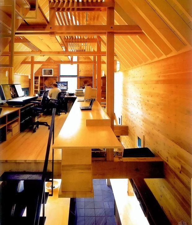 home office: Office Ideas, Desktop Ideas, Offices Spaces, Future Offices, Offices Ideas, Architecture, Hanging Photos, Home Offices, Homme Offices