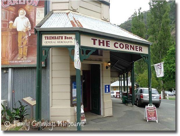 Walhalla Corner Store Information Centre and Museum, Walhalla, Victoria - Australia