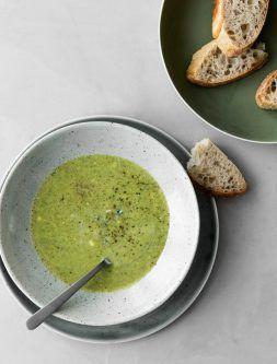 4. mandag i advent: Broccolisuppe med blå ost