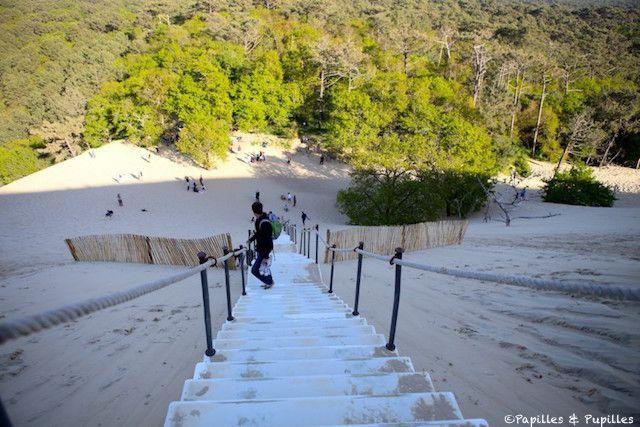 Escalier de la dune