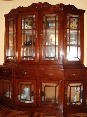 Aparador de comedor muebles en madera o acero inoxidable a manera de armarios especiales para - Muebles para vajilla ...