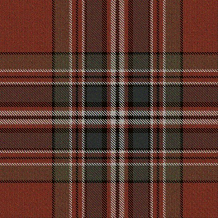 MacFarlane Clan: Weathered Red tartan