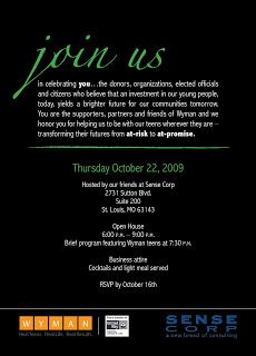 13 best donor appreciation events receptions invitations images melissa wilsford design invitation and rsvp card 2009 wyman donor appreciation event stopboris Images