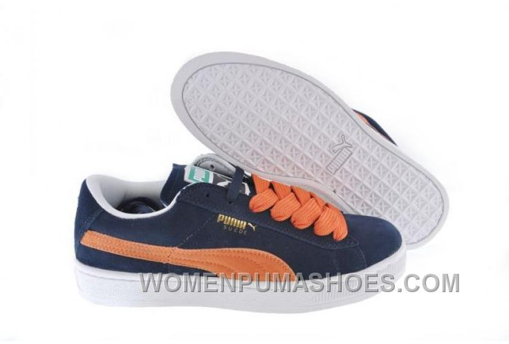 http://www.womenpumashoes.com/puma-the-suede-trainers-blue-orange-for-sale-f8nnx.html PUMA THE SUEDE TRAINERS BLUE ORANGE FOR SALE F8NNX Only $88.00 , Free Shipping!