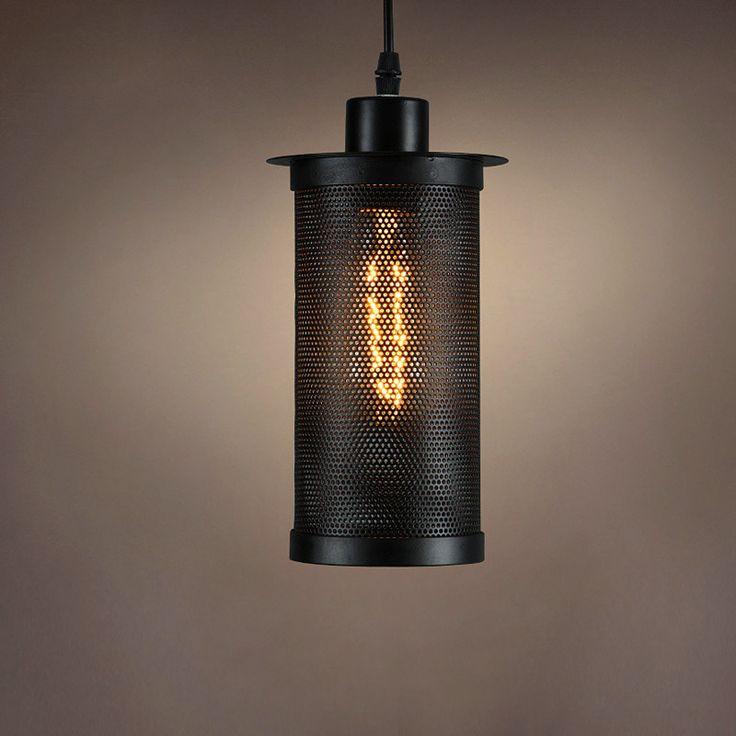 American industrial retro Pendant Lights single head restaurant balcony lights Bar Cafe decorative lighting illumination
