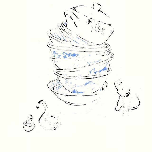 Nachbilder, Künstlerbuch, blotted line Illustration mode Fashion Trends Illustration monotypie monotype monoprint printmaker Drucktechnik Drucktechniken printmakeing illustrationen zeichnung muster pattern patterndesign oberflächendesign blumen floral zart geschichte erinnerung memory sunglasses portät portrait porträts portraits
