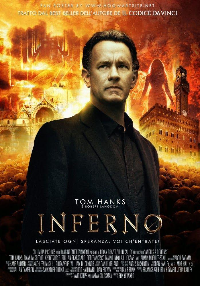 Dan Brown: Inferno - Dan Brown's INFERNO - Fan Cinematic Poster by HogwartSite | #DanBrown #inferno #italy #florence #cinema #fanart