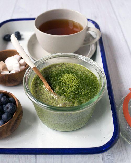 Matcha (Green Tea) Chia Seed Pudding — Oh, How Civilized