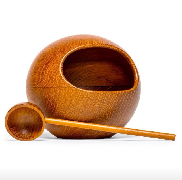 Nut bowl from Sweden, 60's.