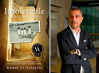 Did you hear? Kamal Al-Solaylee is the winner of the 2013 Toronto Book Awards with  Intolerable: A Memoir of Extremes. It is his story of being gay and leaving his Arab life behind to pursue one in Canada free from religious and social stigmas.  Literary Circle members were lucky enough to celebrate with him at the awards gala last month. For information on joining Literary Circle click here. He'll also be attending the Book Lover's Ball this year!