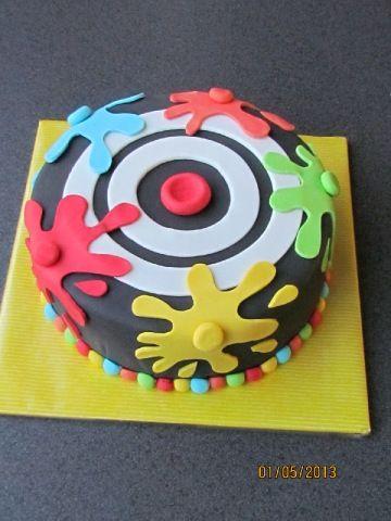 paintball taart - Google zoeken