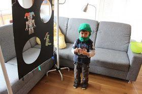 Mein Sohn ist totaler Fan der Serie Ninjago von Lego. Also wünschte er sich seinen Kindergeburtstag im Ninjagostil. Ich habe mir über Pinte...