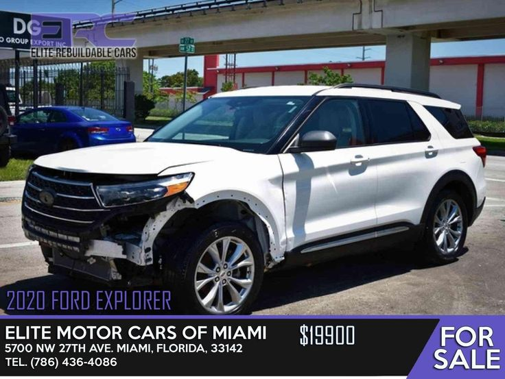 2020 Ford Explorer Elite Motor Cars of Miami 5700 NW 27th