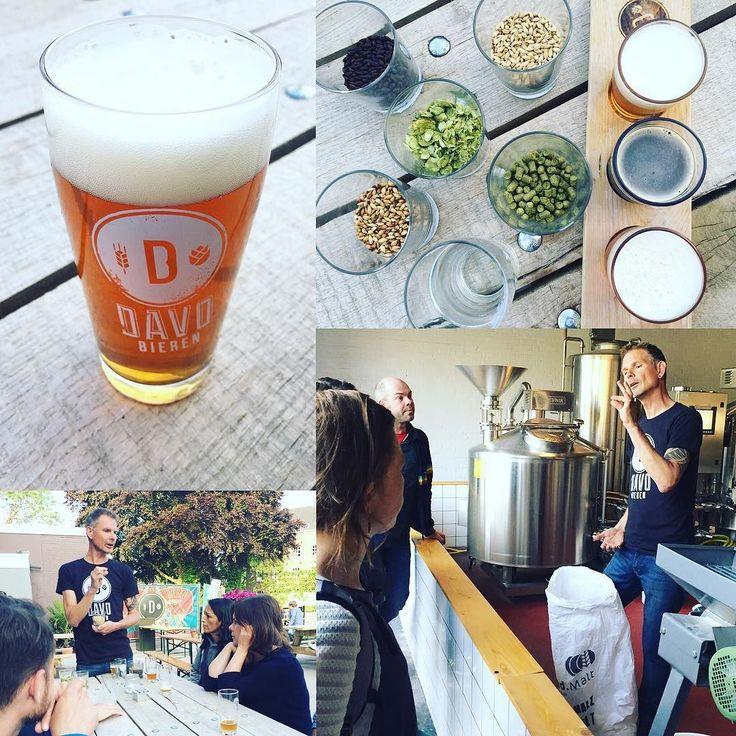 Natuurlijk zijn wij er als de kippen bij om een Deventer startup te supporten. En al helemaal als het een nieuwe bierbrouwerij betreft. Dank Frits voor de uitleg en de proeverij van jullie heerlijke bier!  #davobieren #deventer #thursdayfun by panton_designstudio