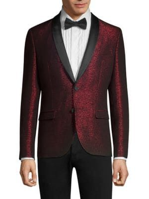 561a745b0 HUGO Extra Slim Arti Sparkle Sport Jacket. #hugo #cloth | Hugo in ...