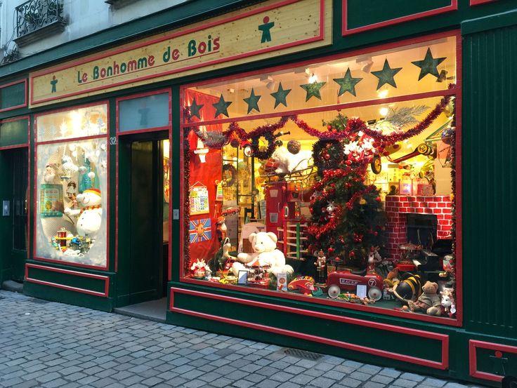 Vitrine de Noël décembre 2016