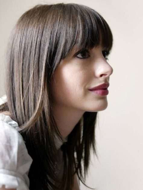 haircuts for your face best 25 across bangs ideas only on 3870 | bc05e56e149e08d58cb45fa4894c3870