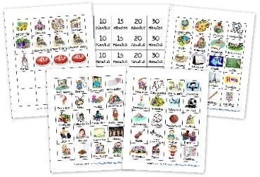 Free Workbox cards from Homeschoolcreatio... another one of my top 5 homeschool blogs. When I set up my work boxes I'm sure I'll come here and print out the cards.