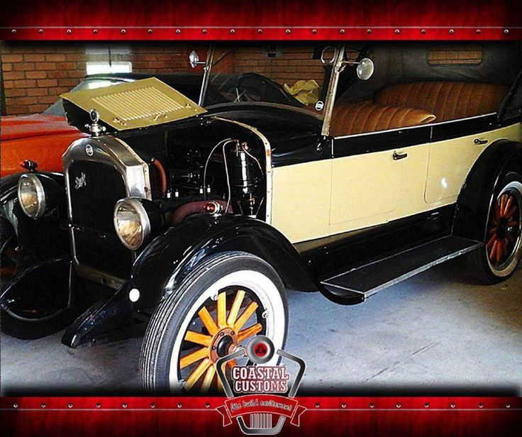 A restored 1926 #RugbyTourer Beige/Black available at #CoastalCustoms. To view this amazing vehicle click here: http://apost.link/5K5. #ClassicCar
