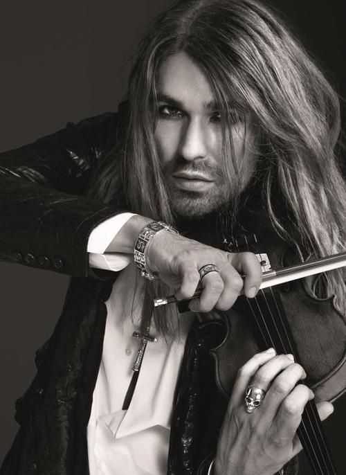 David Garrett ~ Violinist performs w/orchestras & groups ex. Queen