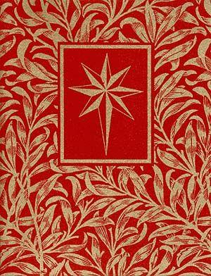 william morris star silkscreen elegant cards — MUSEUM FACSIMILES