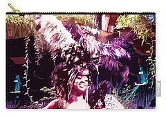 Carry-all Pouch featuring the digital art Havana Dancers 2 by Francesca Mackenney