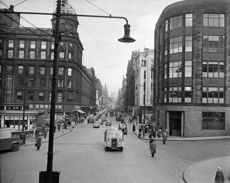 Towards Buchanan Street (Early 1960s) Glasgow Bygone