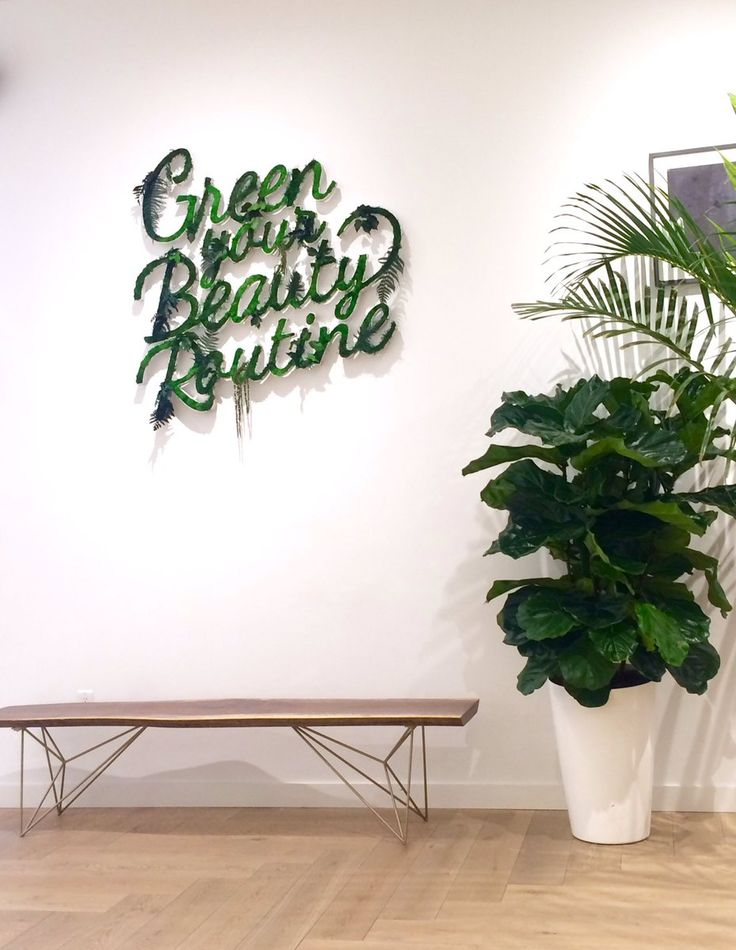 "SAKS FIFTH AVENUE, Toronto, Canada, ""Green Your Beauty Routine"", pinned by Ton van der Veer"