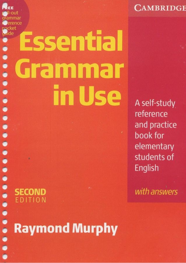 Cambridge essential grammar in use