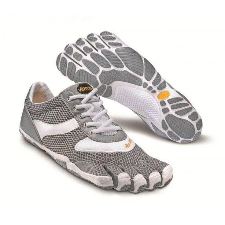 Vibram Fivefingers SPEED Womens W3303 Gray/White Running Shoes NEW #Vibram #RunningCrossTraining
