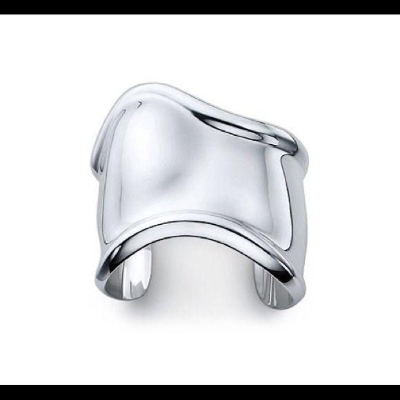 Tiffany & Co. Jewelry - Tiffany and Co ~  Elsa Peretti Medium Bone Cuff