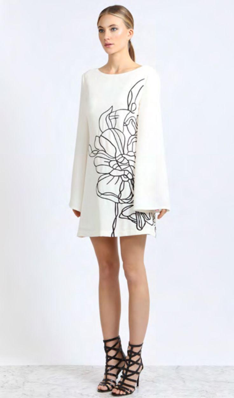 Elliatt - Abstract Swing Dress