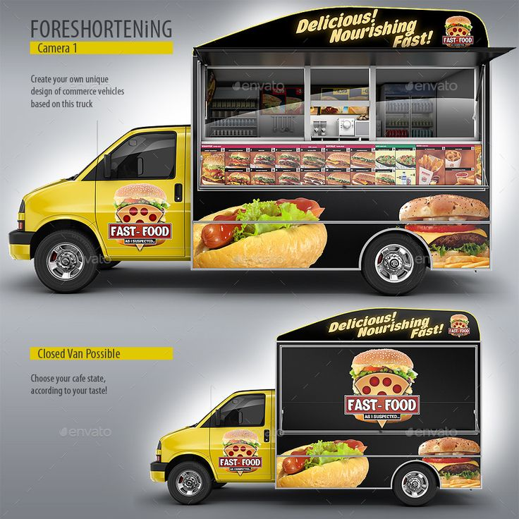 Set Includes 10 Hi Res 3d Renders In 10 Layered Psd Files 6000 4000 Resolution All The Objects On A Transparent Food Truck Design Food Truck Food Cart Design