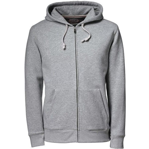 Lands' End Men's Tall Long Sleeve Serious Sweats Full-zip Hoodie ($60) ❤ liked on Polyvore featuring men's fashion, men's clothing, men's hoodies, grey, mens hoodie, mens hooded sweatshirts, mens gray hoodie, mens full zip hoodies and mens full zip hoodie