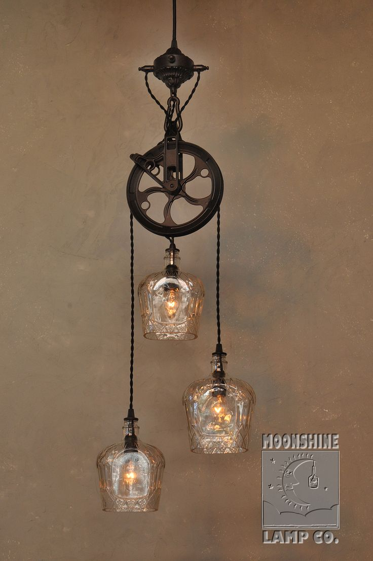 737 best lighting images on pinterest chandeliers light fixtures were pleased with this brand new version of our popular warehouser dual pendant chandelier made from recycled bottles this fixture was commissioned by a aloadofball Image collections