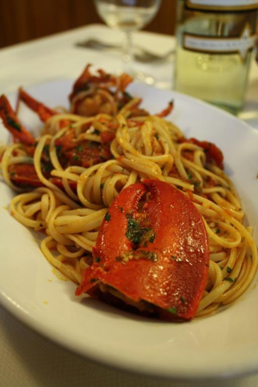 Ristorante Cafaggi dal1922, Firenze - Linguine all'astice #Sceltipervoi #ristoranti