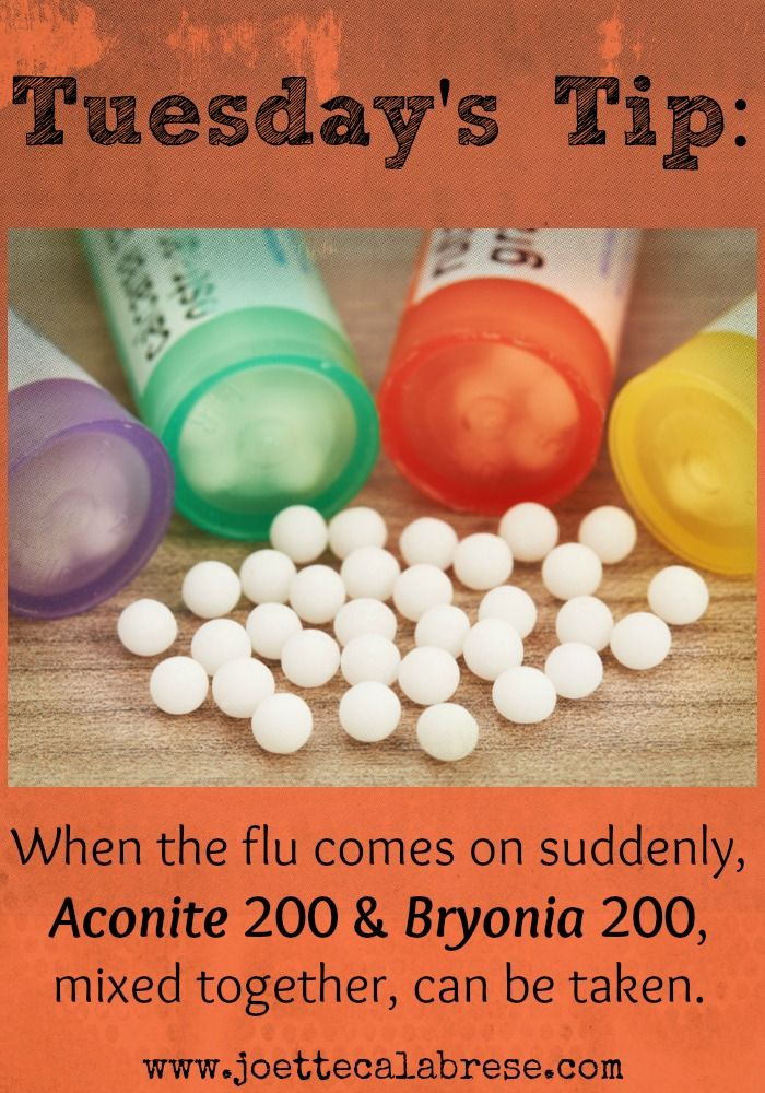 Find out what I took for the flu. ~joettecalabrese.com