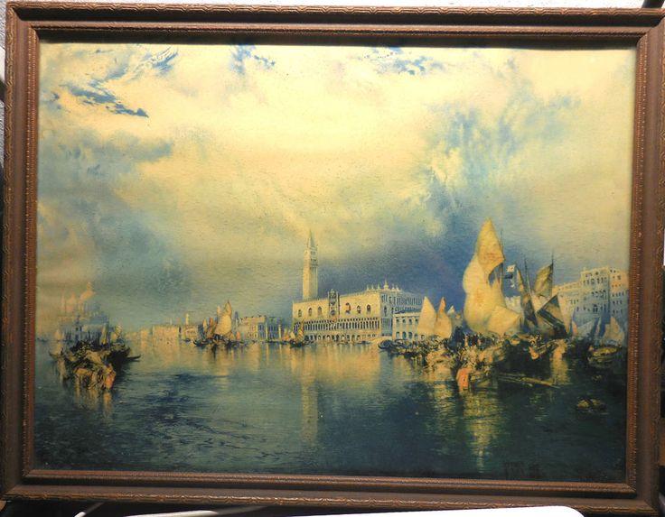 Ancient Venice by Thomas Moran; 17x13