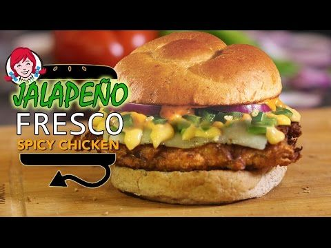 52 best hellthy junk food recipes images on pinterest junk food wendys jalapeno fresco spicy chicken sandwich recipe remake hellthyjunkfood forumfinder Images
