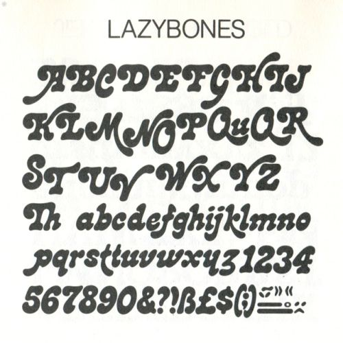 The Groovy Archives in 2020 | Typography alphabet, Cool ...