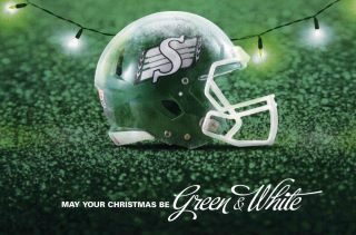 May your Christmas be Green & White.