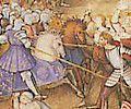 Marignan; contrairement à une légende tenace mais apocryphe (développée à partir de 1525 pour des raisons de prestige royal) François I° ne se fait pas armer chevalier par Bayard sur le champ de bataille de Marignan.
