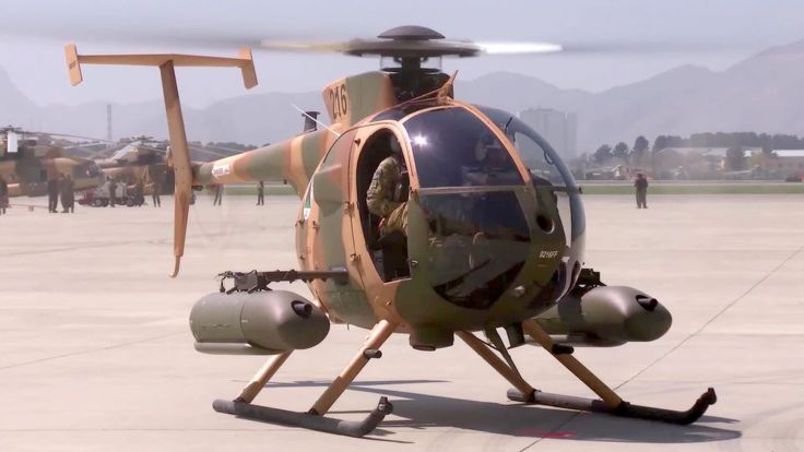 Afghan Air Force To Get Rocket Equipped MD 530F Helicopters