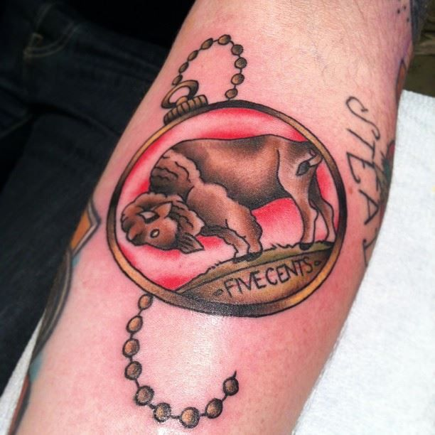 85 best tattooer amanda hoffman images on pinterest for Tattoos of buffaloes