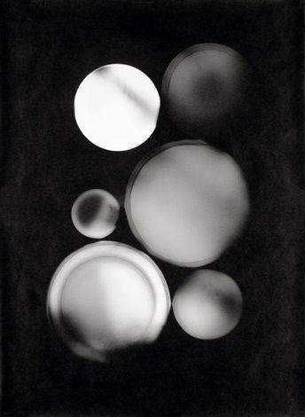 Tellerbild/Fotogramm von Floris Neusüss
