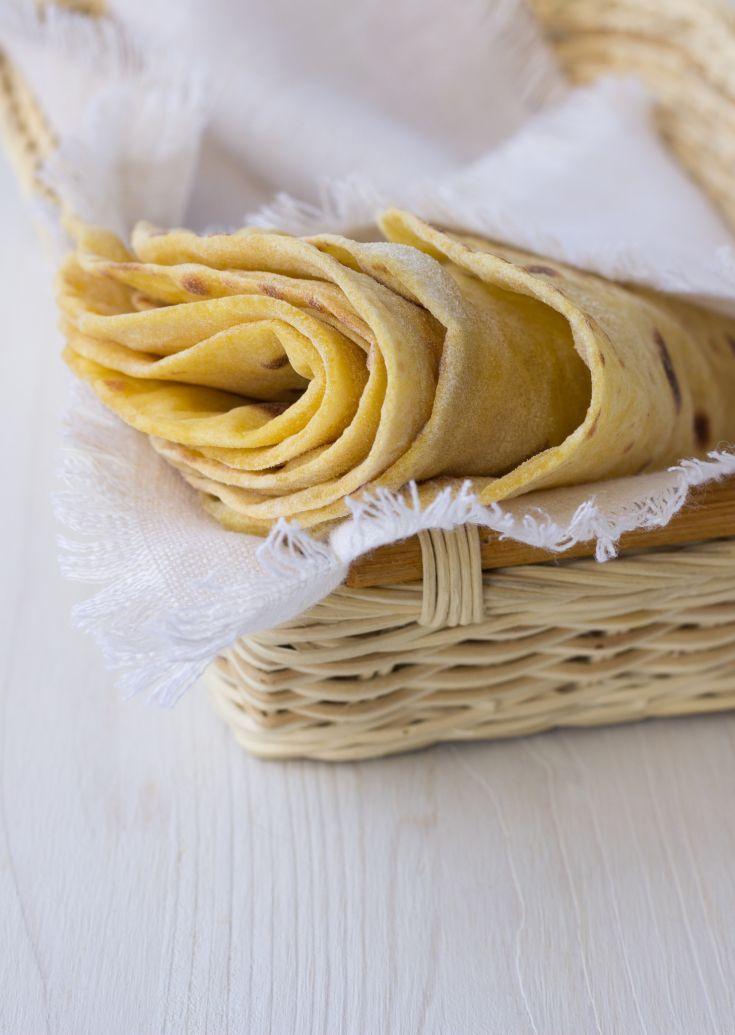 Domáce celozrnné tortilly