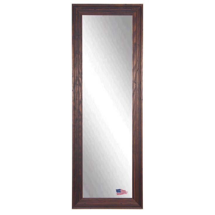 This full size body mirror is naturally