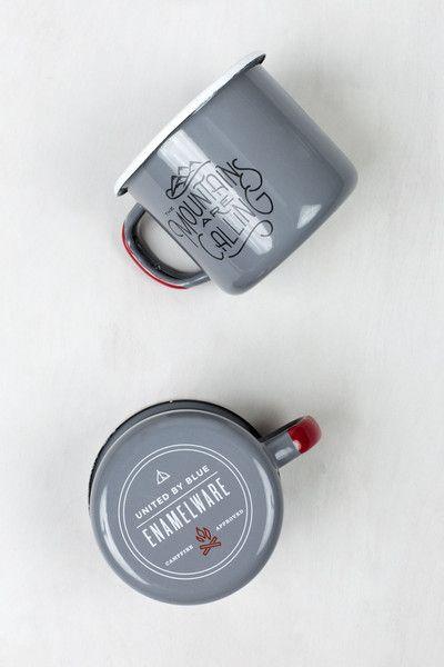 John Muir Enamel Steel Mug   United By Blue