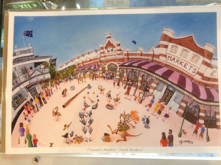 "Fremantle Markets ""Duck Buskers"""
